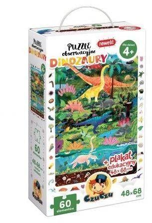 Puzzle obserwacyjne Dinozaury