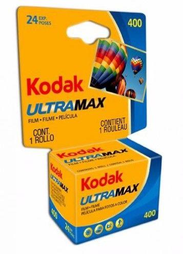 Film Kodak Ultramax 400/24