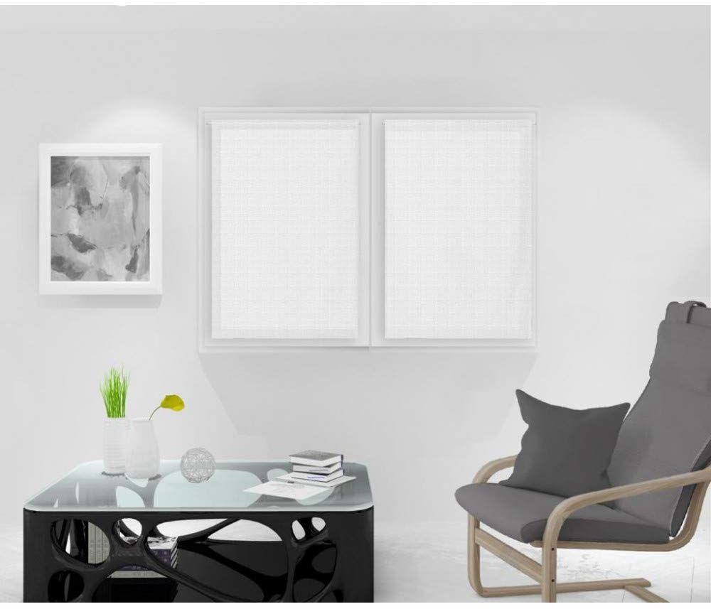Soleil d''Ocre Noemie zazdrostka, woal, poliester, biały, 60 x 90 cm