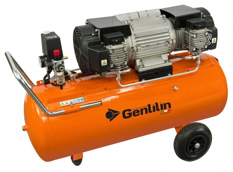 Sprężarka tłokowa bezolejowa Gentilin E660/100