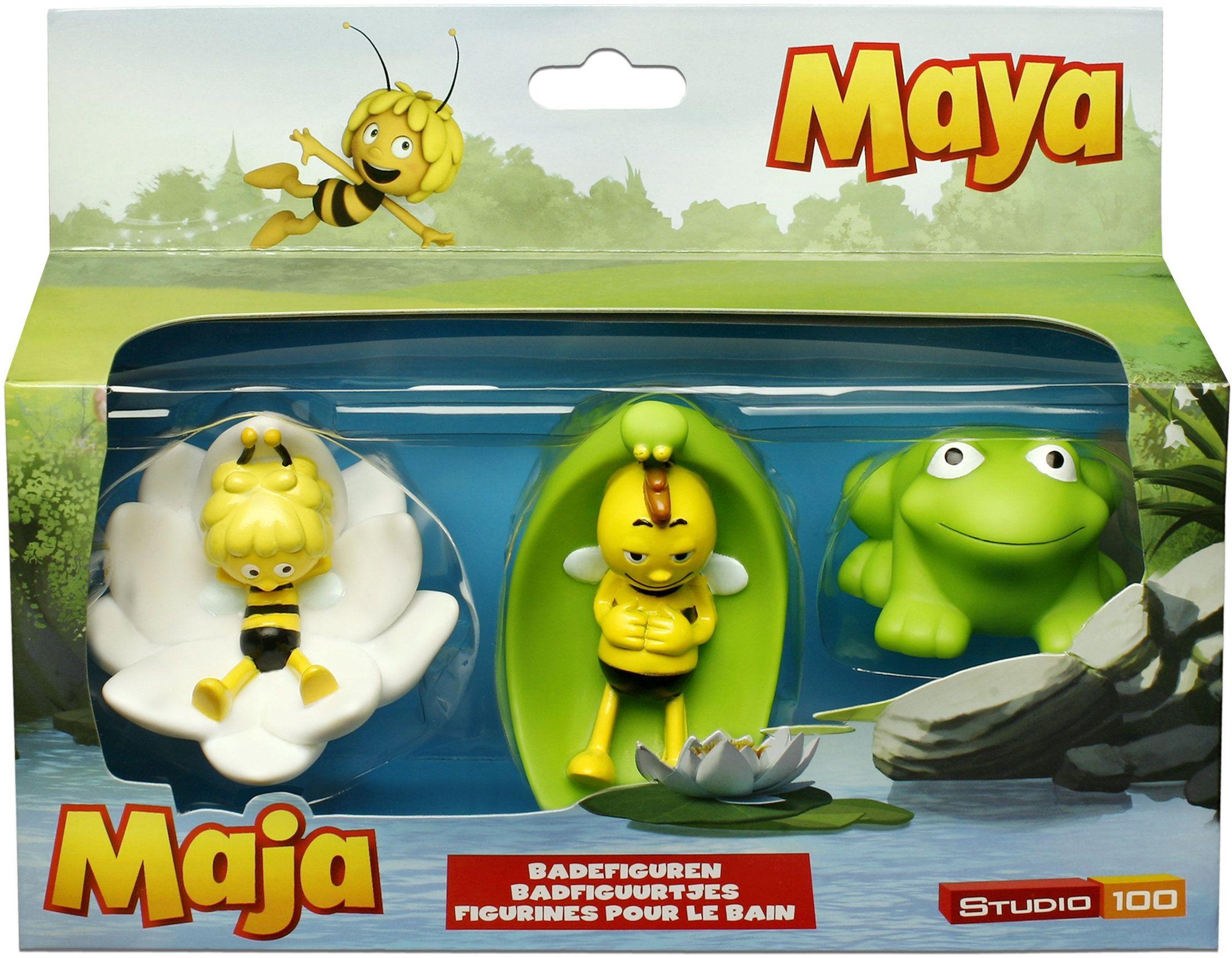 Studio 100 - MEMA00000050 - Pszczółka Maja: figurki łazienkowe, 3-częściowe