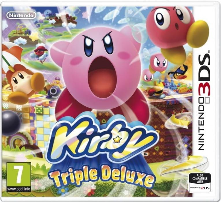 Gra Kirby Triple Deluxe (3DS)