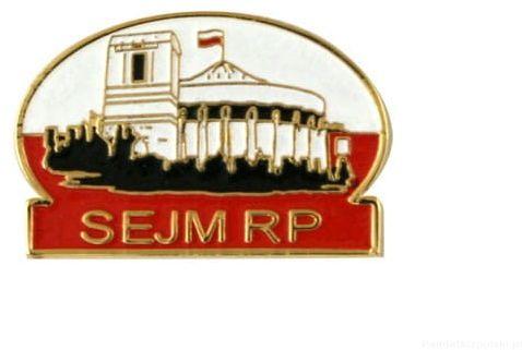 Sejm RP - przypinka