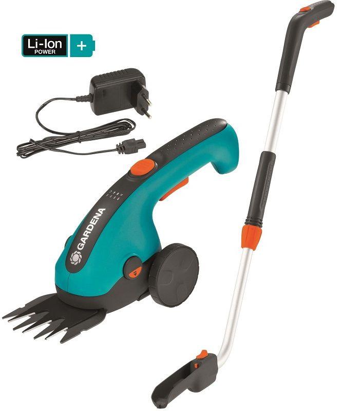 Gardena Akumulatorowe nożyce do przycinania brzegów trawnika ClassicCut Li - zestaw Gardena 9855-20