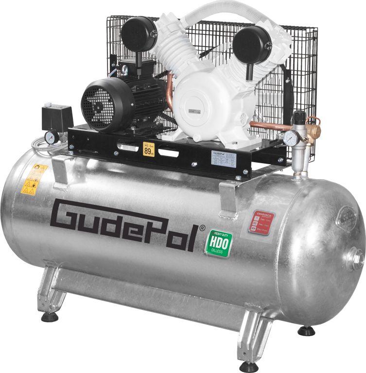 Sprężarka tłokowa bezolejowa GudePol HDO 50/270/680