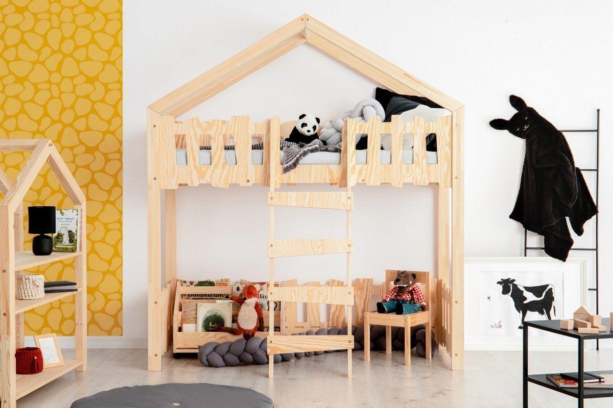Łóżko piętrowe ZIPPO PA 80x140 sosna  Kupuj w Sprawdzonych sklepach