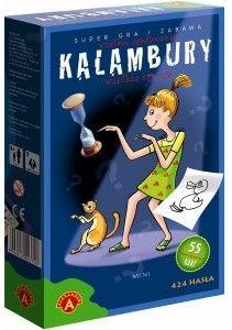 Rodzinna Gra Kalambury Mini 424 Hasła ALEKSANDER