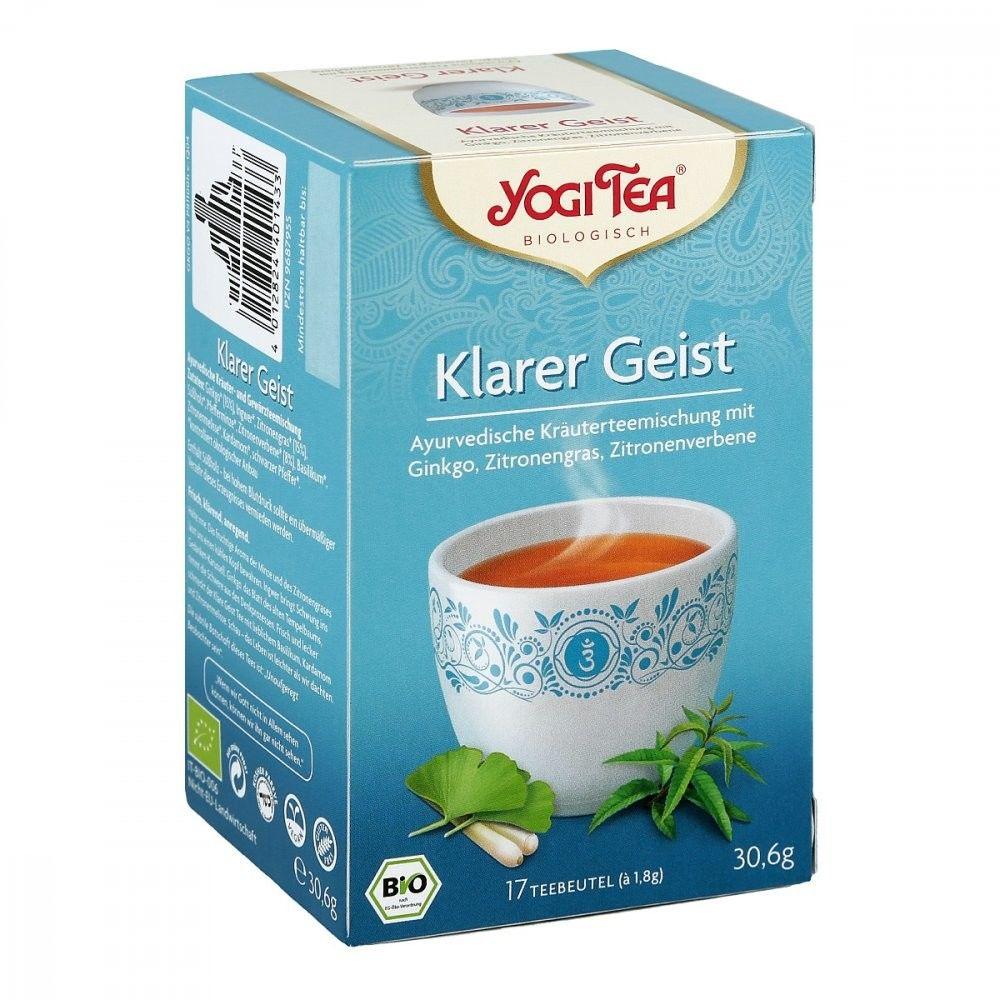 Yogi Tea herbata z miłorzębem japońskim saszetki