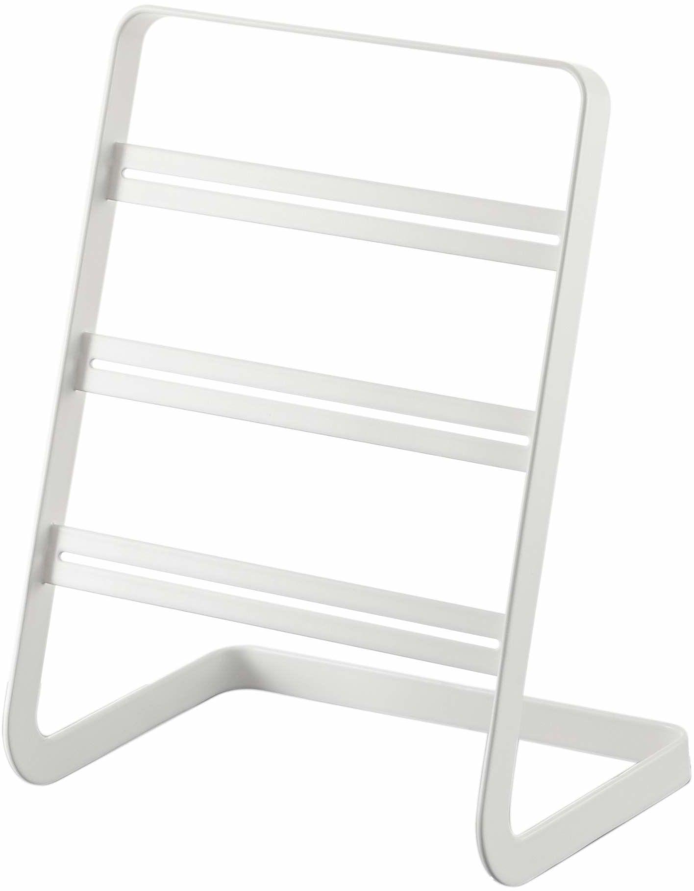 Gerson 2490 stojak na kolczyki, biały