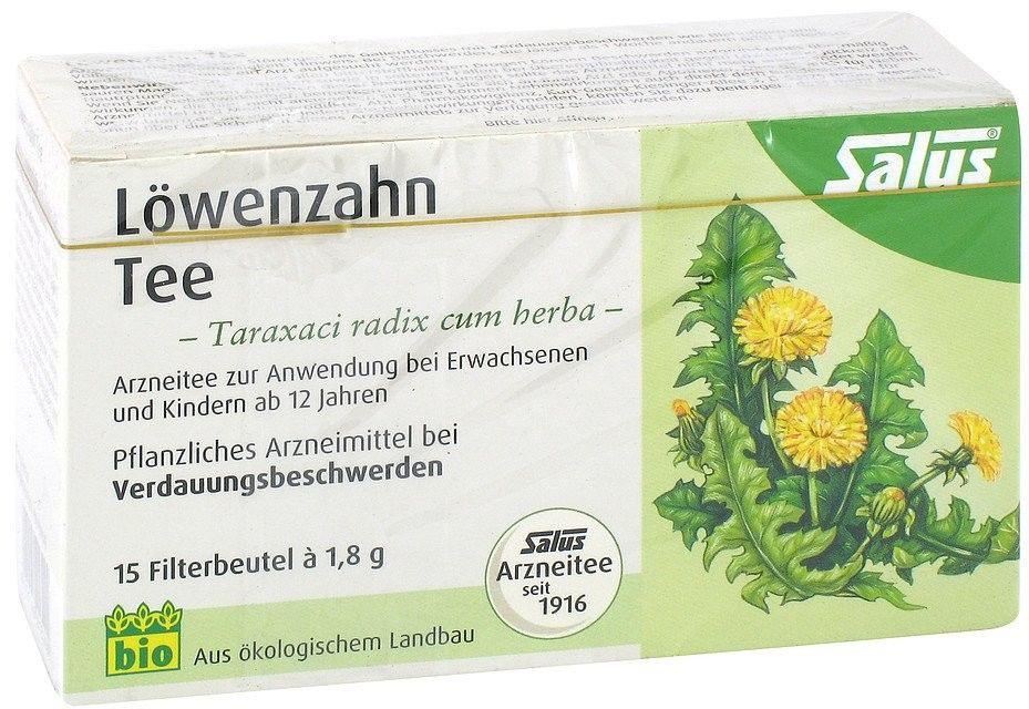 Salus herbata lecznicza z mniszkiem lekarskim saszetki