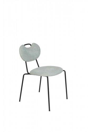Krzesło Aspen miętowe