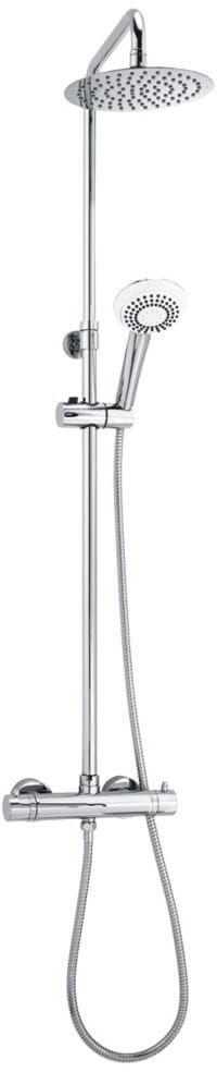 System prysznicowy natynkowy termostatyczny OMNIRES Y1244X/6CR