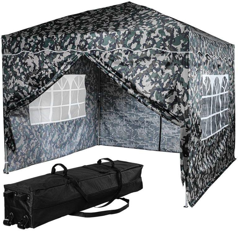 Instent Namiot ogrodowy - 3 x 3 m, miejski + 4 boki