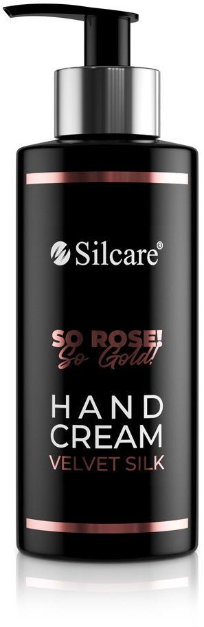 Krem do rąk So Rose! So Gold! Velvet Silk 240 ml