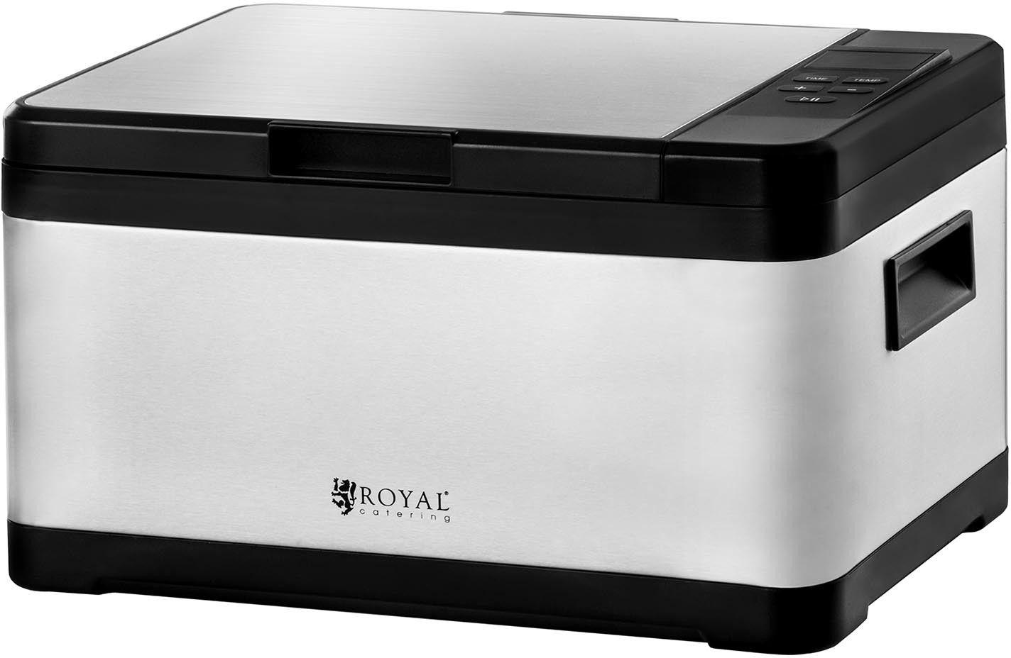 Zestaw Urządzenie do gotowania sous vide + Pakowarka próżniowa + Folia próżniowa - 4 rolki - Royal Catering - RCSV-SET1 - 3 lata gwarancji/wysyłka w