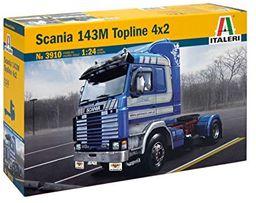 Italeri 3910 - 1:24 Scania Topline 4x2, 143 m, pojazdy