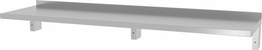 Półka wisząca wzmocniona pod urządzenia z trzema konsolami szer: 1600 - 2000mm gł: 400mm
