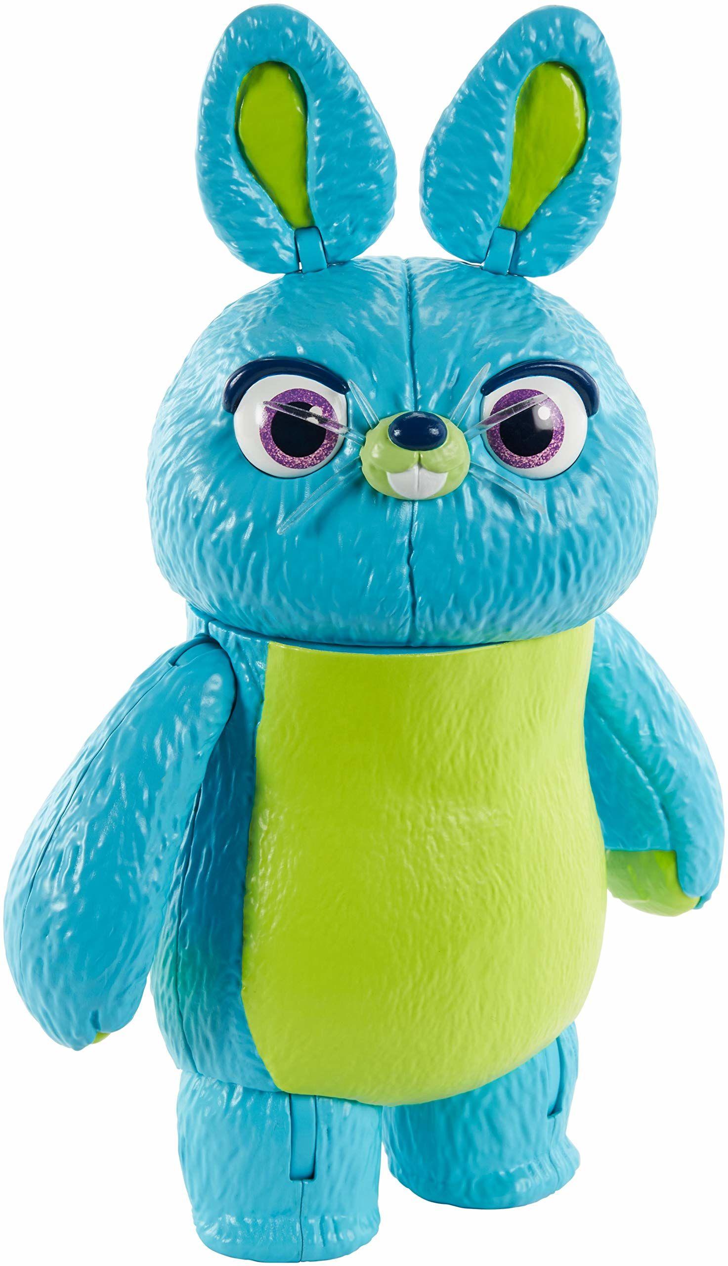 Disney Pixar Toy Story 4 figurka królika, 23 cm wysokości, z personelem, możliwa postać dla dzieci w wieku od 3 lat do starszych