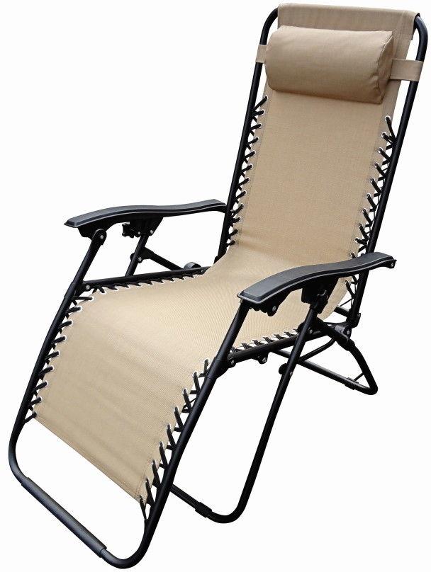 Fotel ogrodowy Gravity beżowy