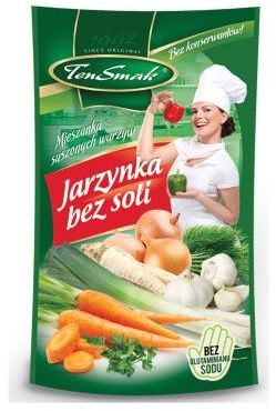 Jarzynka bez soli 100 g TEN SMAK