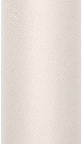 Tiul dekoracyjny kremowy 15cm rolka 9m TIU15-079 - 15CM KREMOWY
