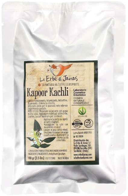 Kapoor Kachli Hedychium spicatum Erbe di Janas zioła do włosów 100g