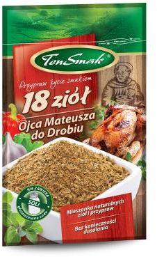 Przyprawa 18 ziół do drobiu 30 g TEN SMAK