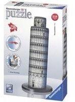 Ravensburger - Puzzle 3D Krzywa wieża w Pizie 125579