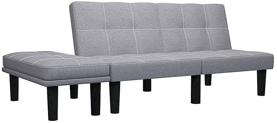 Sofa rozkładana Mirja - jasnoszara