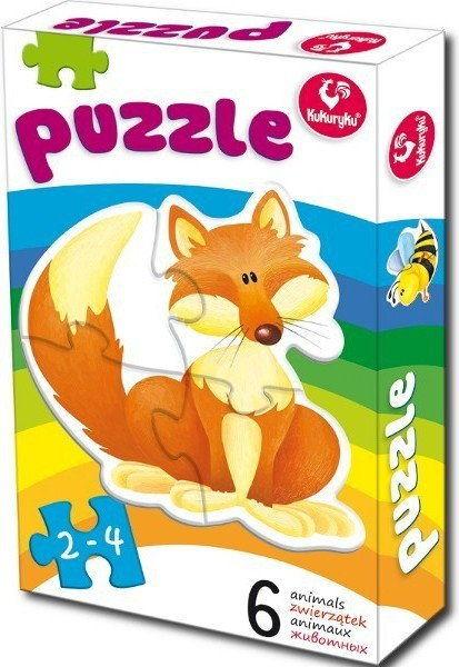 Pierwsze Puzzle, Zwierzątka 1
