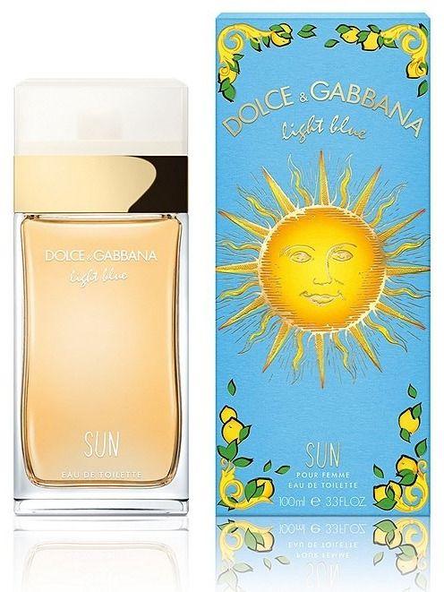 Dolce Gabbana Light Blue Sun Woman woda toaletowa - 100ml