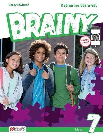 Brainy 7 WB MACMILLAN ZAKŁADKA DO KSIĄŻEK GRATIS DO KAŻDEGO ZAMÓWIENIA