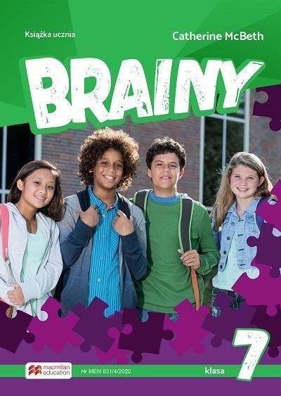 Brainy 7 SB MACMILLAN ZAKŁADKA DO KSIĄŻEK GRATIS DO KAŻDEGO ZAMÓWIENIA