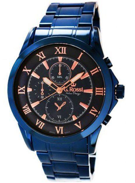 Zegarek Męski G.Rossi 3844B-6F3