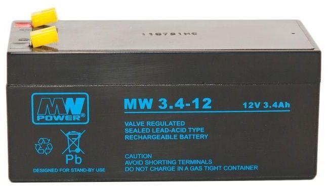 Akumulator żelowy 12V 3,4Ah