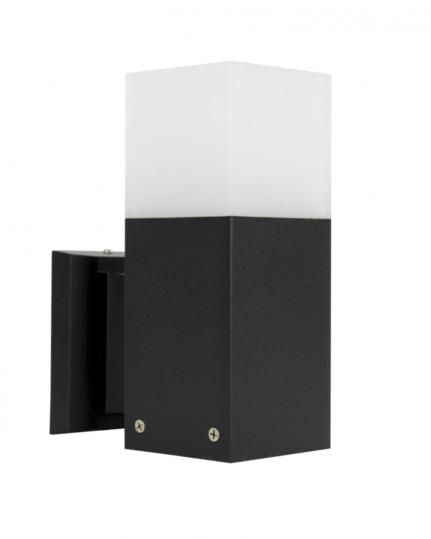 Kinkiet elewacyjny Cube CB-K BL Czarny IP44 - Su-ma Do -17% rabatu w koszyku i darmowa dostawa od 299zł !