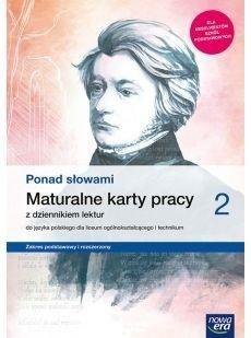 J. Polski LO 2 Ponad słowami ZPiR KP w.2020 NE ZAKŁADKA DO KSIĄŻEK GRATIS DO KAŻDEGO ZAMÓWIENIA