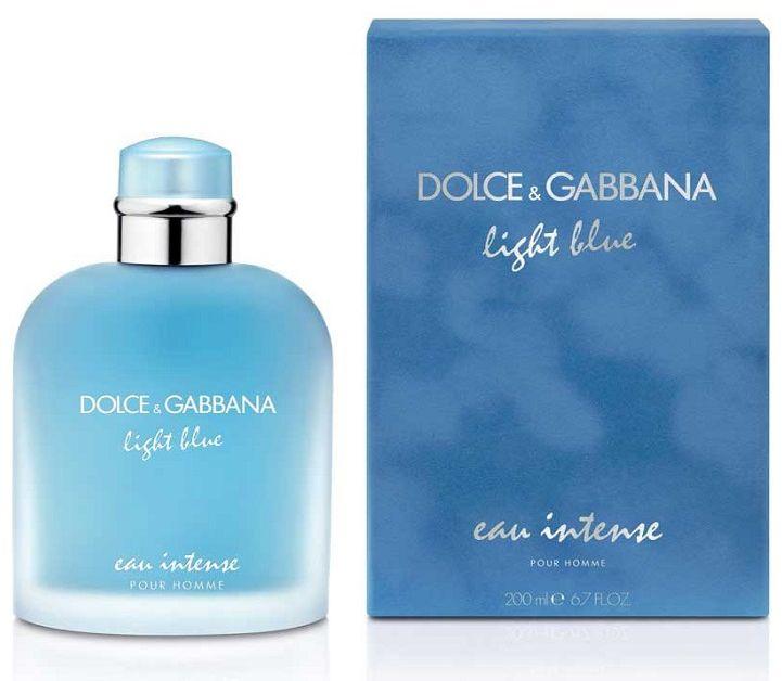 Dolce Gabbana Light Blue Pour Homme Eau Intense woda perfumowana - 50ml