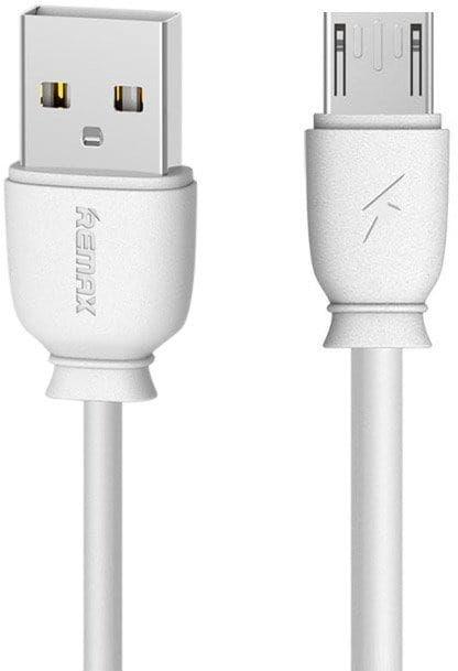 Remax Suji - Kabel Micro USB 2.1A 1M biały