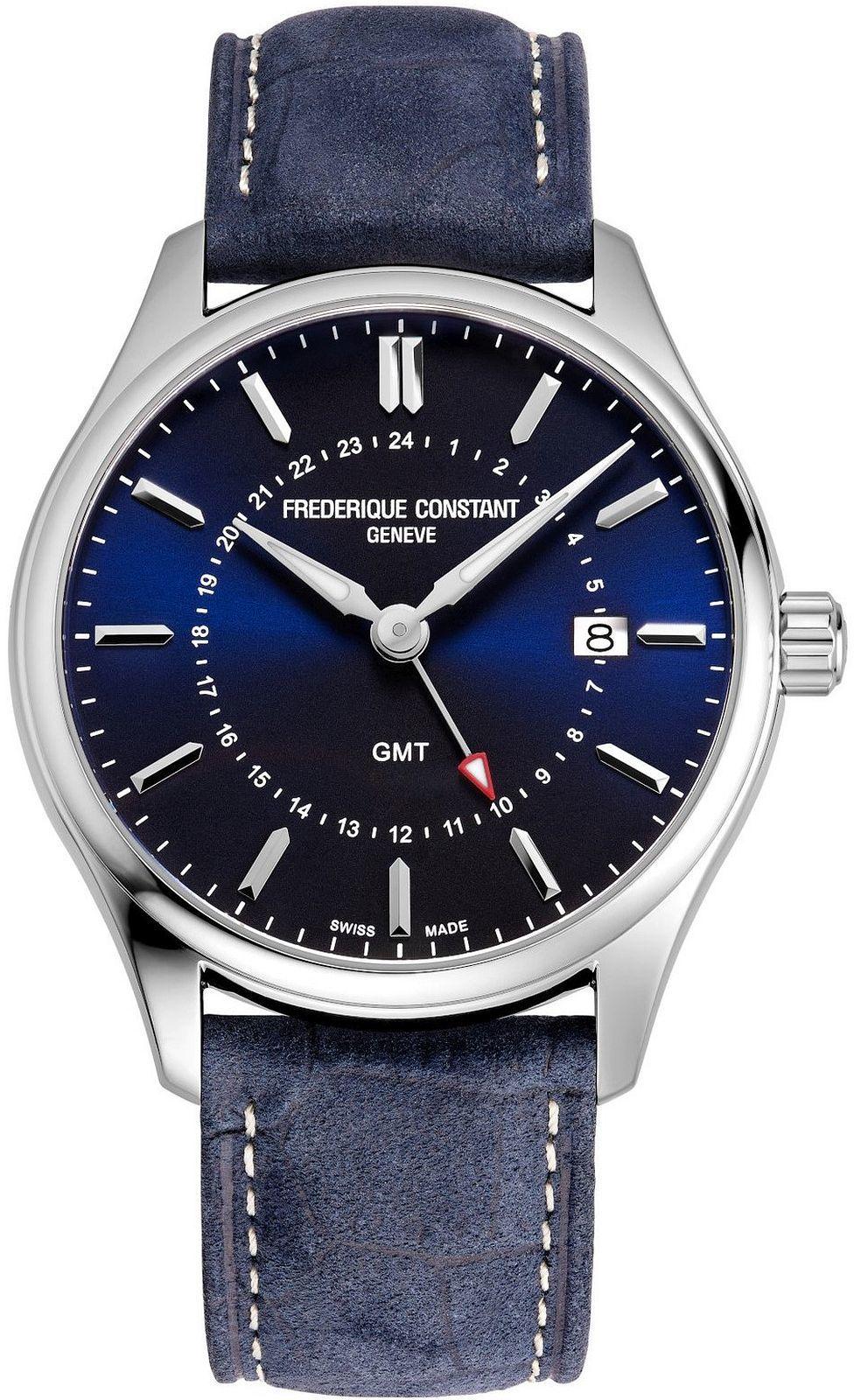 Zegarek męski Frederique Constant Classics GMT