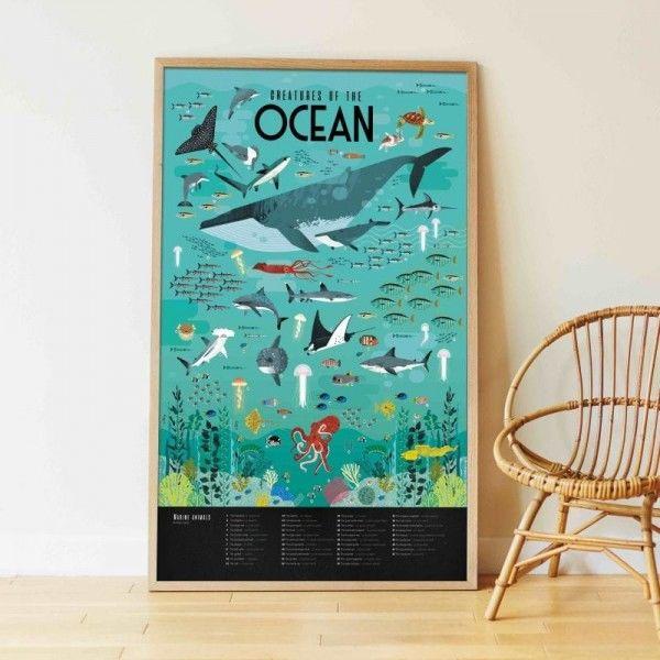 Poppik - Wyklejanka Pikselowa Pixel Art OCEAN