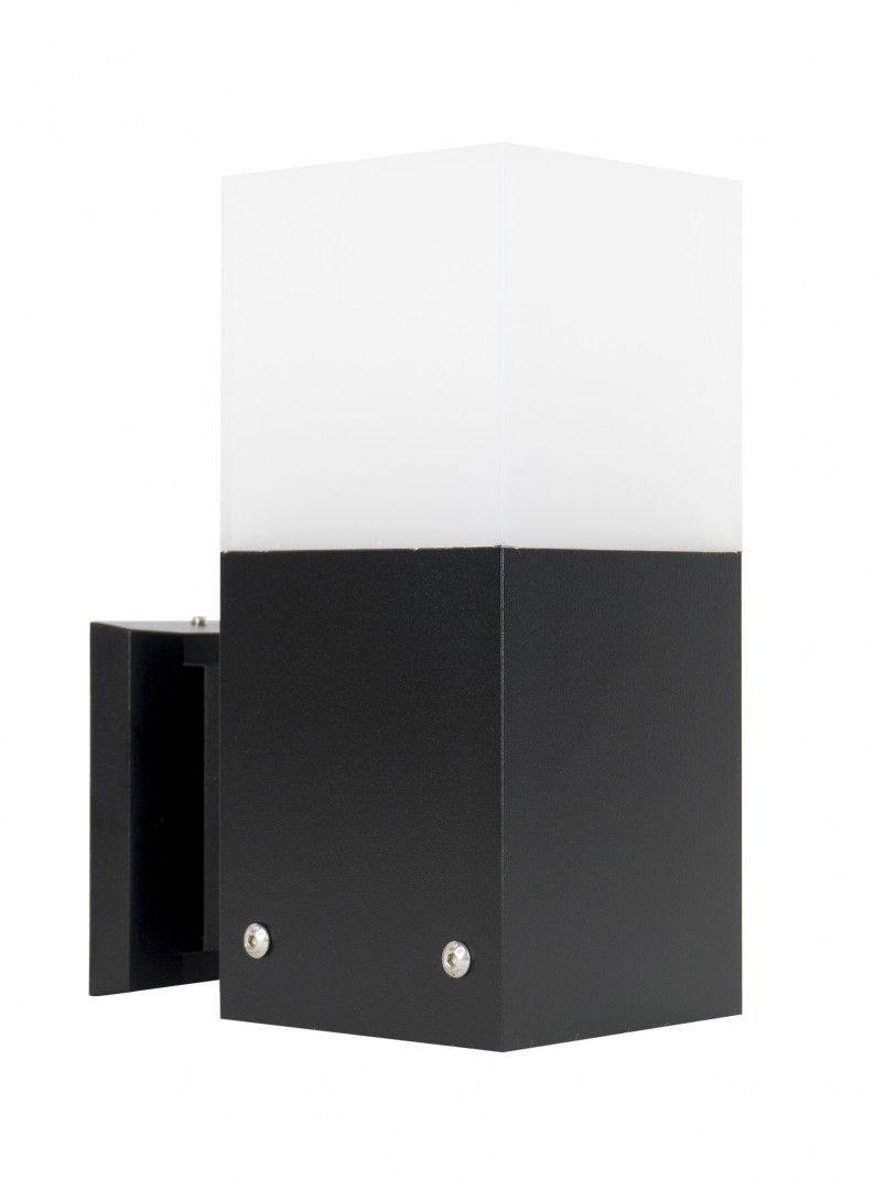 Kinkiet elewacyjny Cube Max CB-MAX K BL Czarny IP44 - Su-ma Do -17% rabatu w koszyku i darmowa dostawa od 299zł !