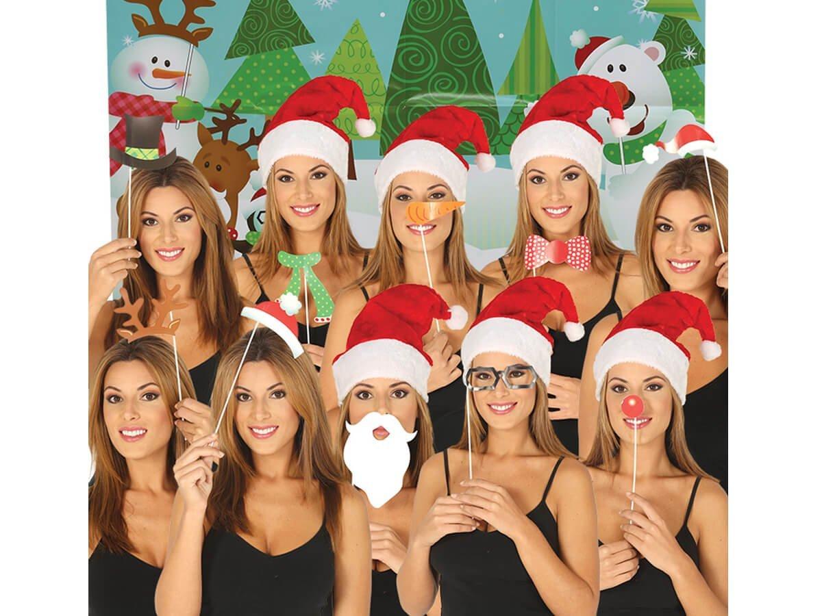 Foto rekwizyty na Święta Bożego Narodzenia - 10 elem.
