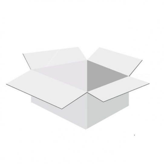 Karton klapowy tekt 3 - 270 x 180 x 110 biały 420g/m2 fala B