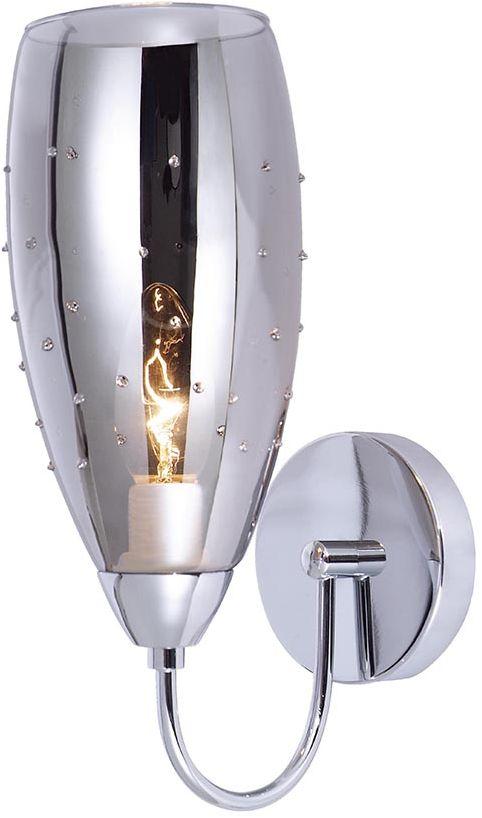Italux kinkiet lampa ścienna Grace MBM2170/1 A chrom szkło