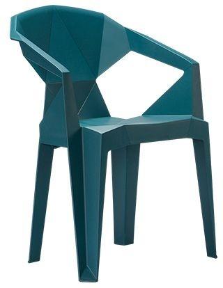 Krzesło ogrodowe Muze TEALBLUE Unique
