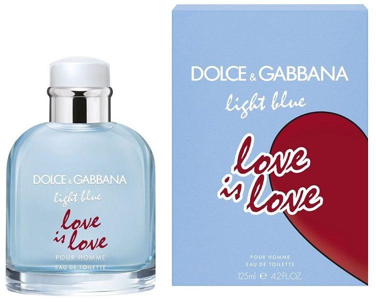 Dolce Gabbana Light Blue Love is Love Pour Homme woda toaletowa - 125ml