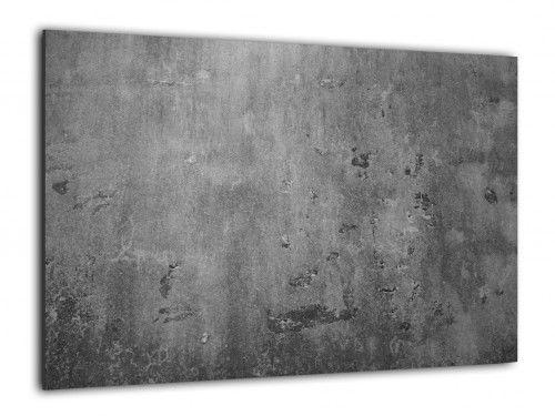 Obraz szklany BETON MUR CEMENT 60x40cm ozdobna szklana tablica magnetyczna