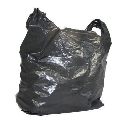 Torba foliowa LDPE 28/50 czarna (100szt/op)