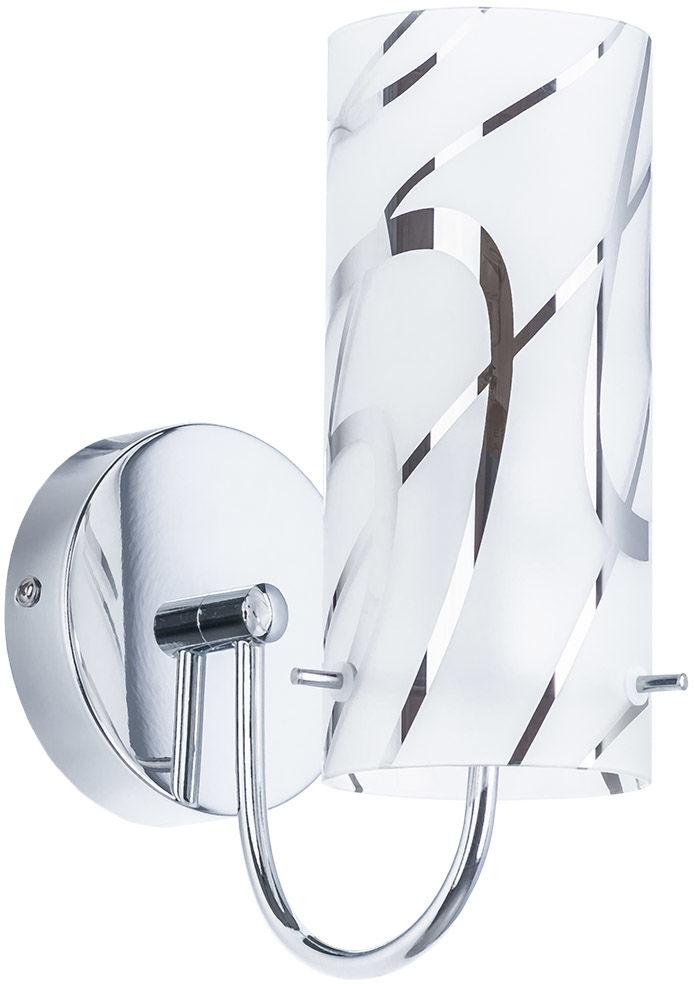 Italux kinkiet lampa ścienna Halo MBM1850-1 chrom szkło
